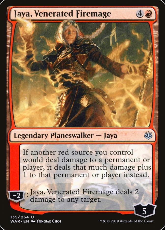 Jaya, Venerated Firemage [WAR]