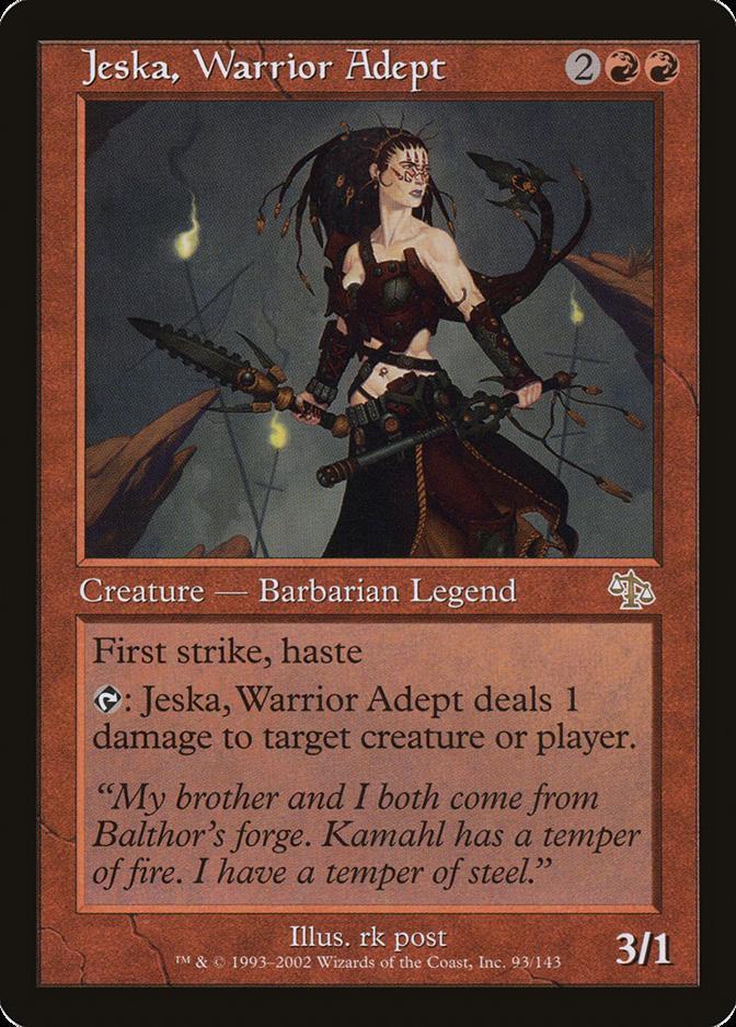 Jeska, Warrior Adept [JUD]