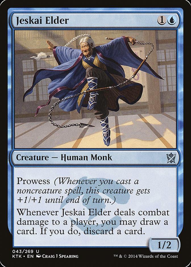 Jeskai Elder [KTK]