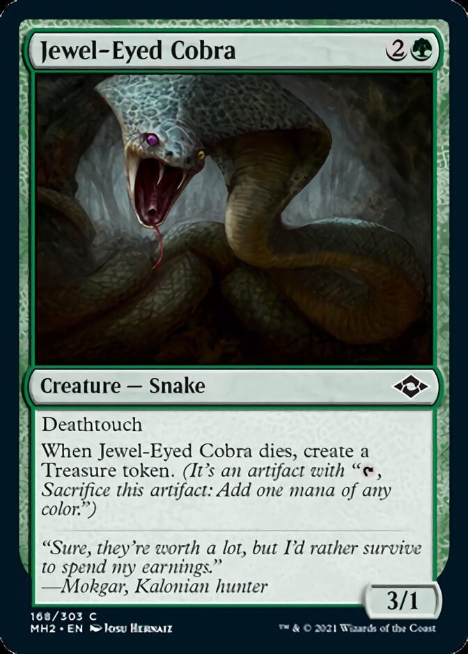 Jewel-Eyed Cobra [MH2]