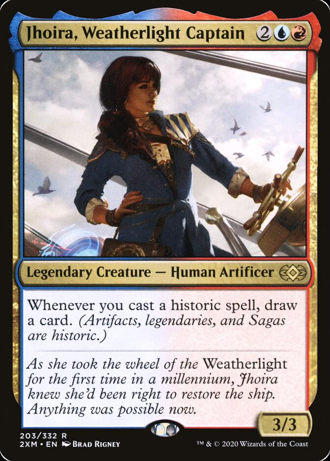 Jhoira, Weatherlight Captain [2XM]