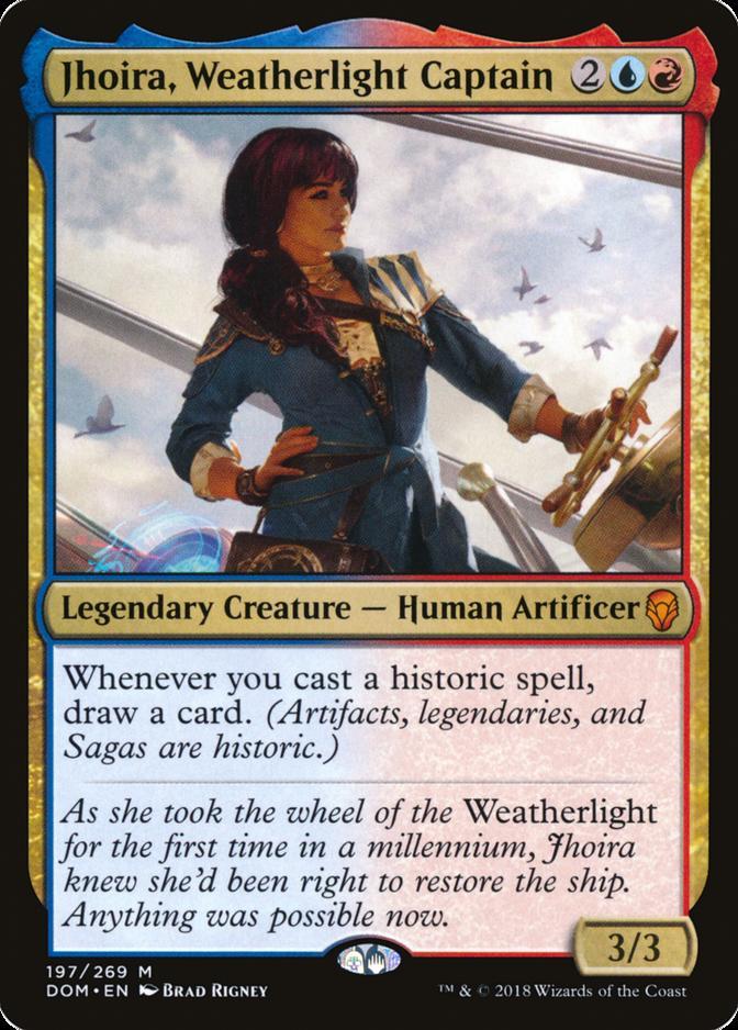 Jhoira, Weatherlight Captain [DOM]