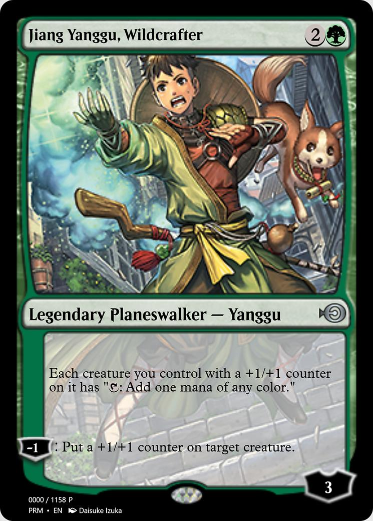 Jiang Yanggu, Wildcrafter [PRM] (F)