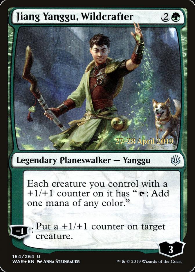 Jiang Yanggu, Wildcrafter [PRM-PRE] (F)