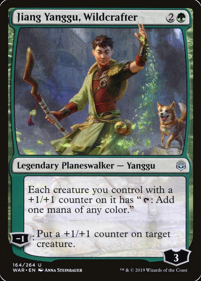 Jiang Yanggu, Wildcrafter [WAR]