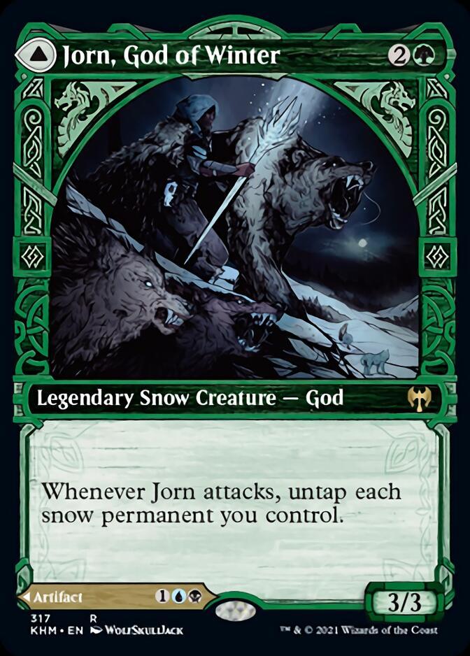 Jorn, God of Winter <showcase> [KHM]