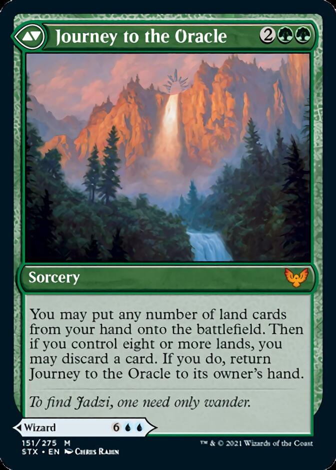 Journey to the Oracle [STX]