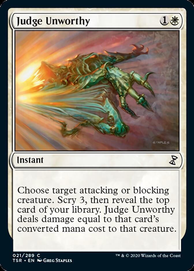 Judge Unworthy [TSR]