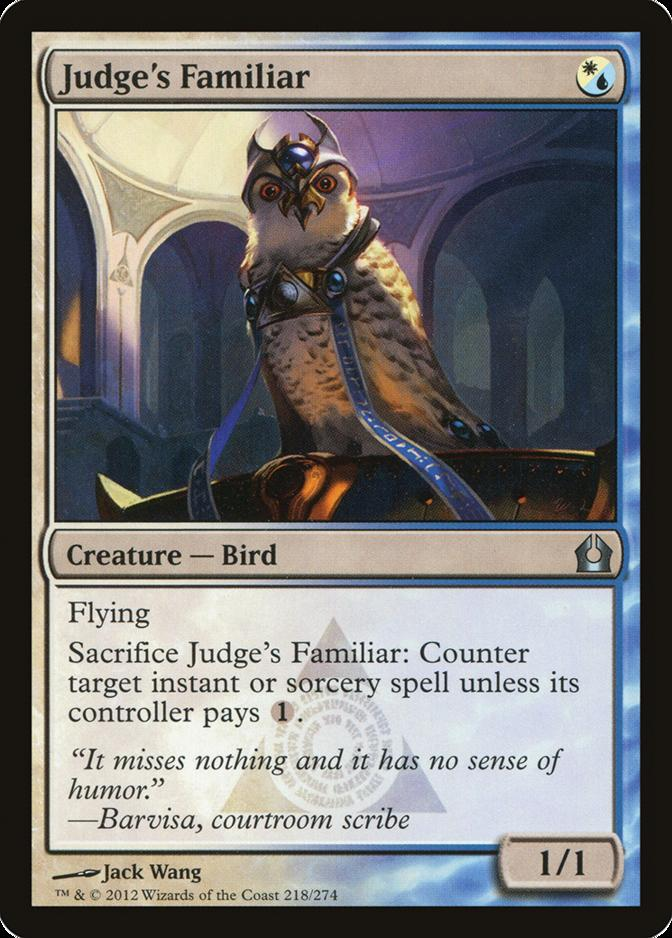 Judge's Familiar [RTR] (F)