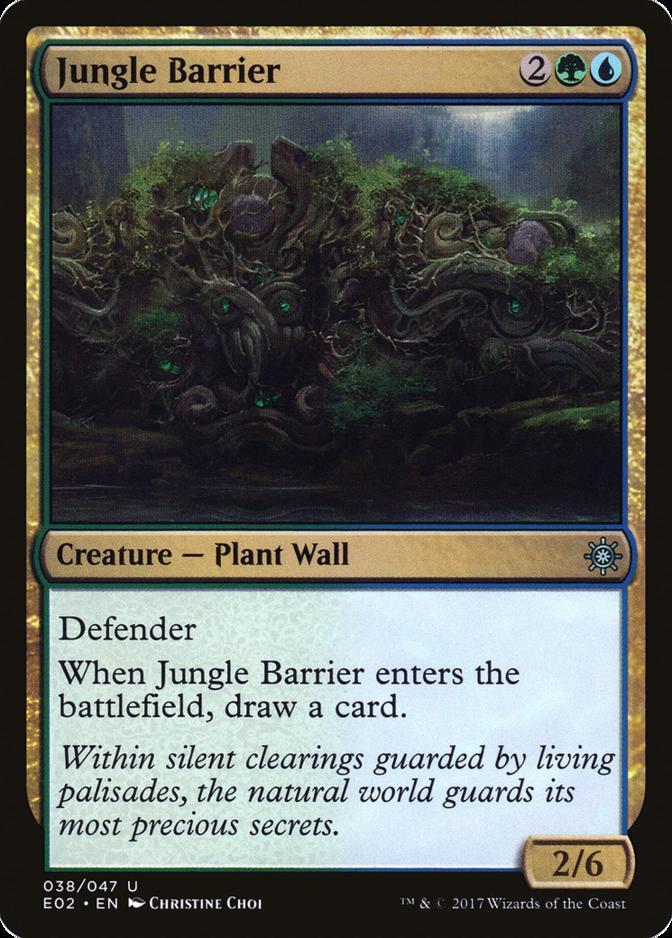 Jungle Barrier [E02]