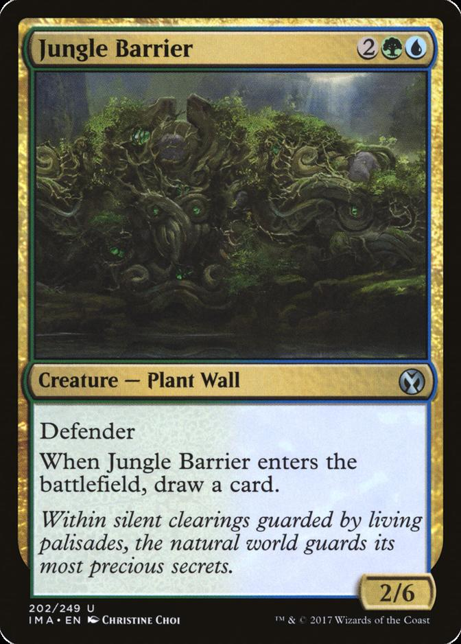 Jungle Barrier [IMA] (F)