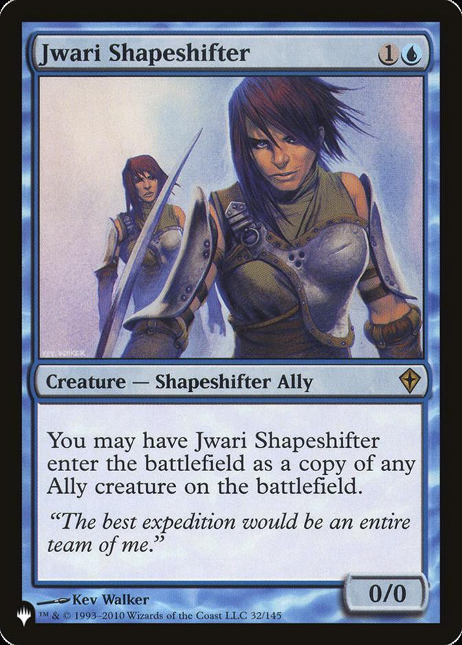 Jwari Shapeshifter [PLIST]