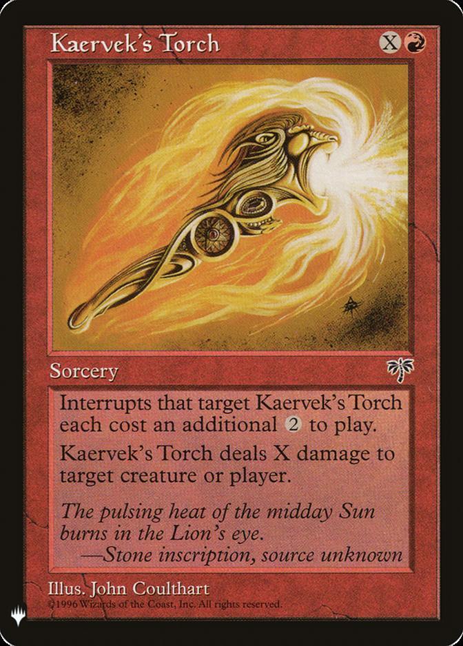 Kaervek's Torch [MB1]