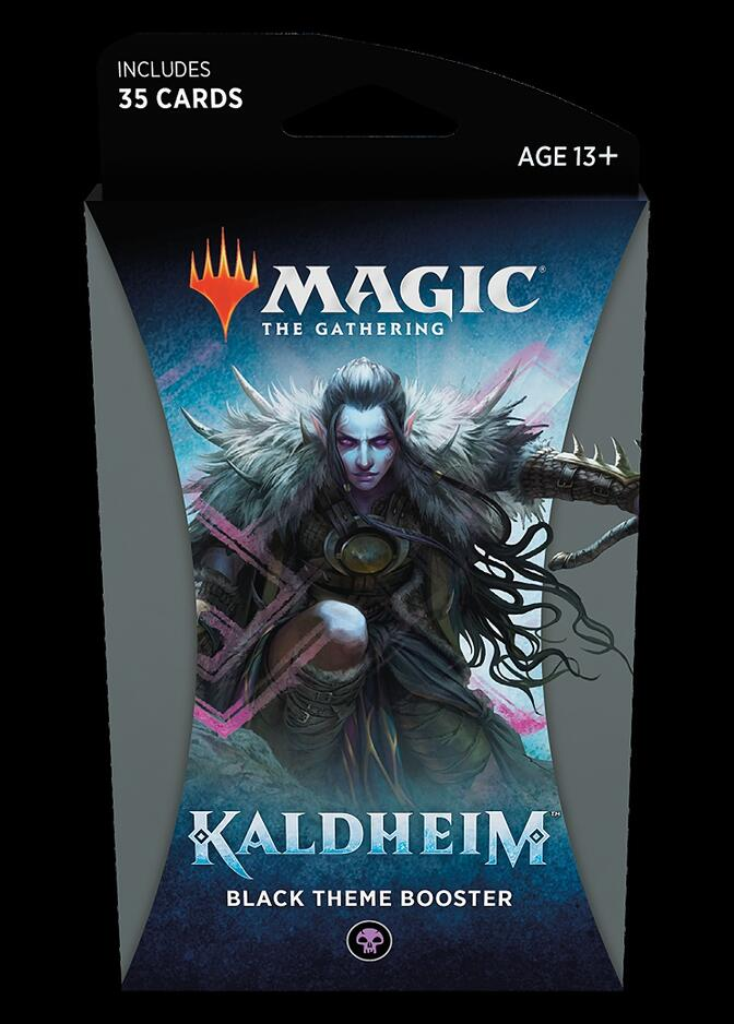 Kaldheim Theme Booster: Black <sealed> [KHM]