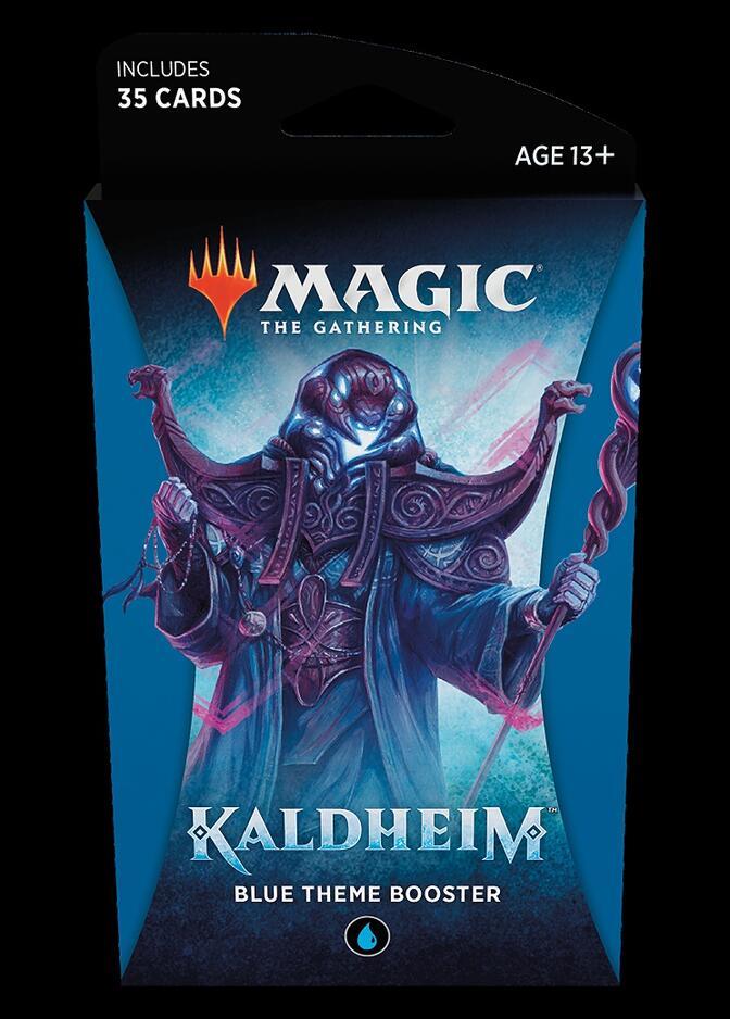 Kaldheim Theme Booster: Blue <sealed> [KHM]