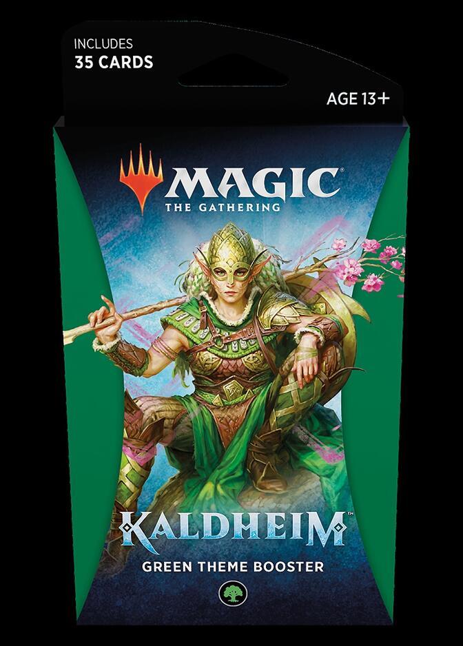 Kaldheim Theme Booster: Green <sealed> [KHM]