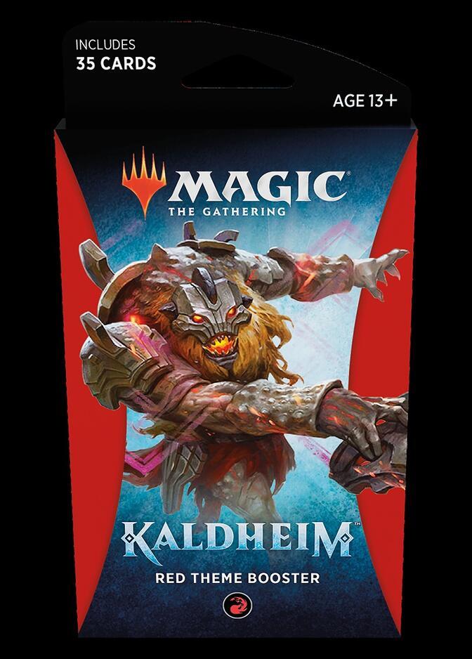 Kaldheim Theme Booster: Red <sealed> [KHM]