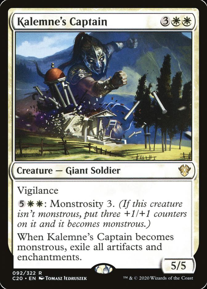 Kalemne's Captain [C20]