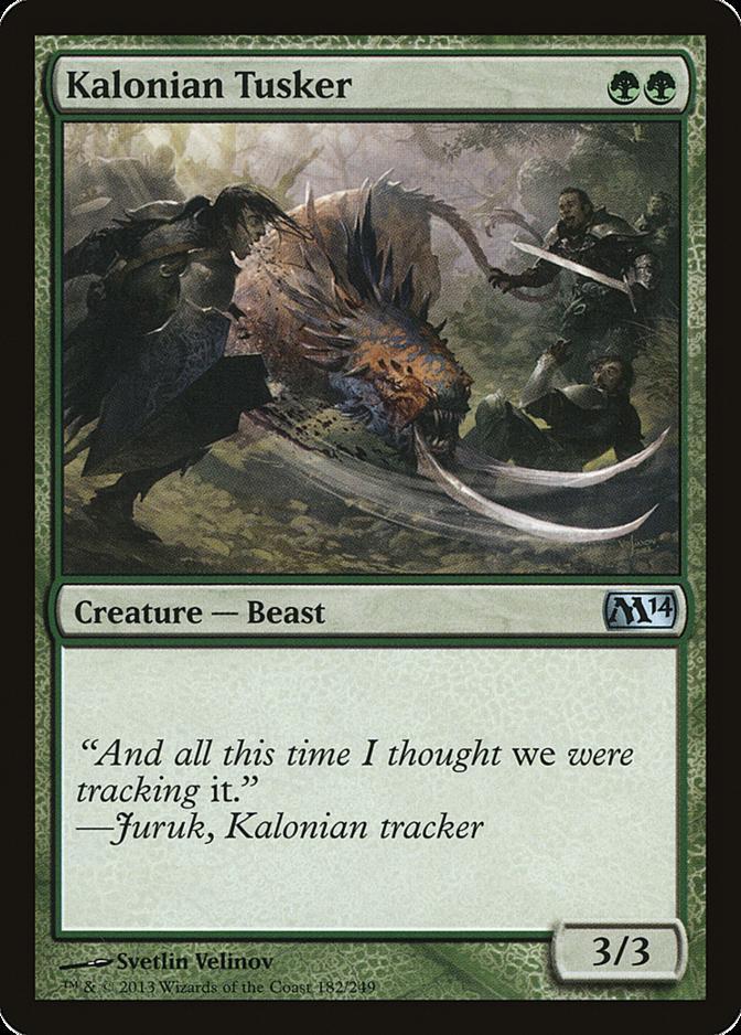Kalonian Tusker [M14] (F)
