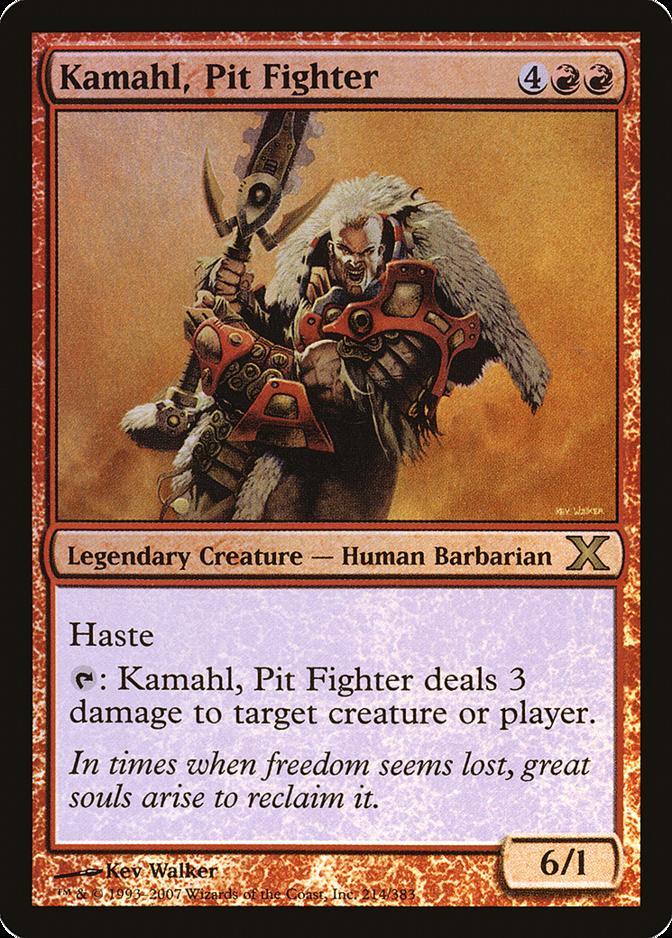 Kamahl, Pit Fighter [10E]