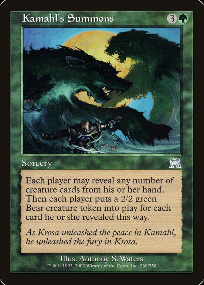 Kamahl's Summons [ONS]