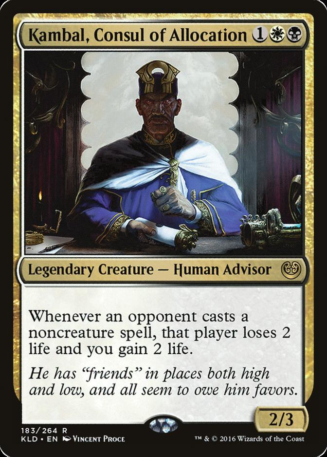 Kambal, Consul of Allocation [KLD]