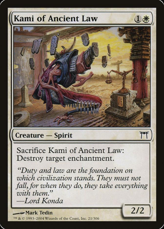 Kami of Ancient Law [CHK] (F)