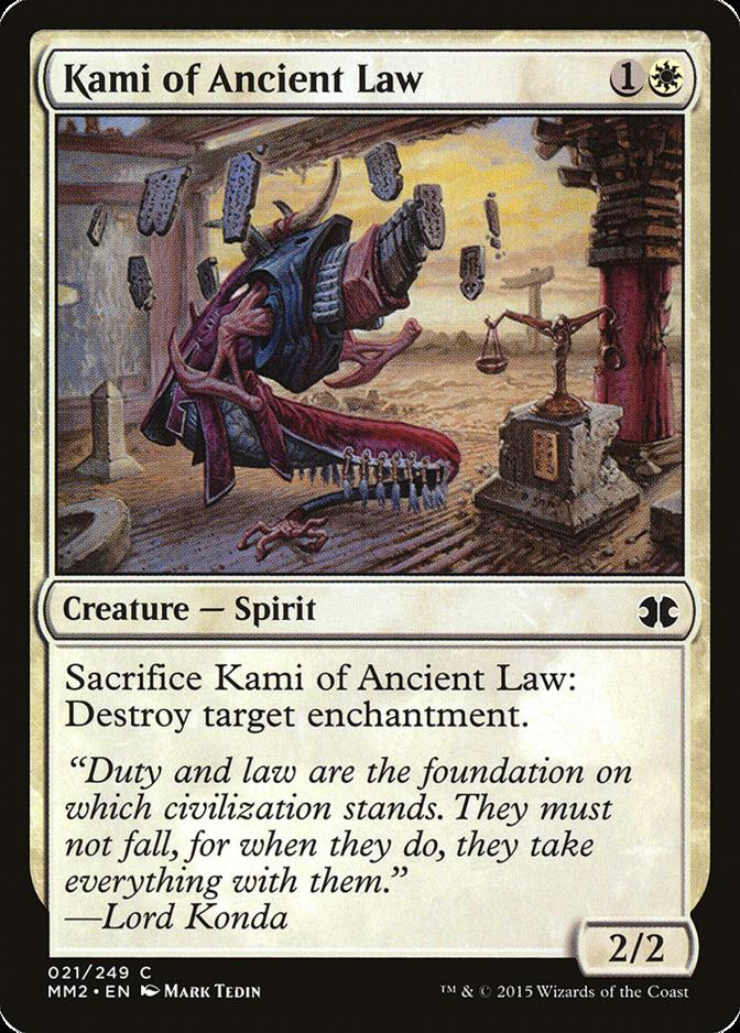 Kami of Ancient Law [MM2]