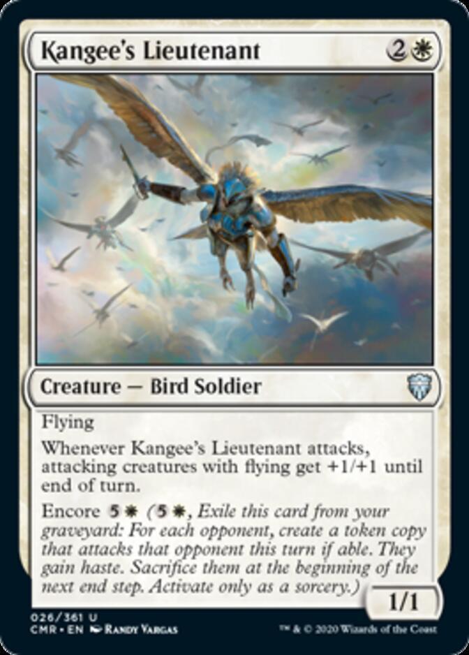 Kangee's Lieutenant [CMR]