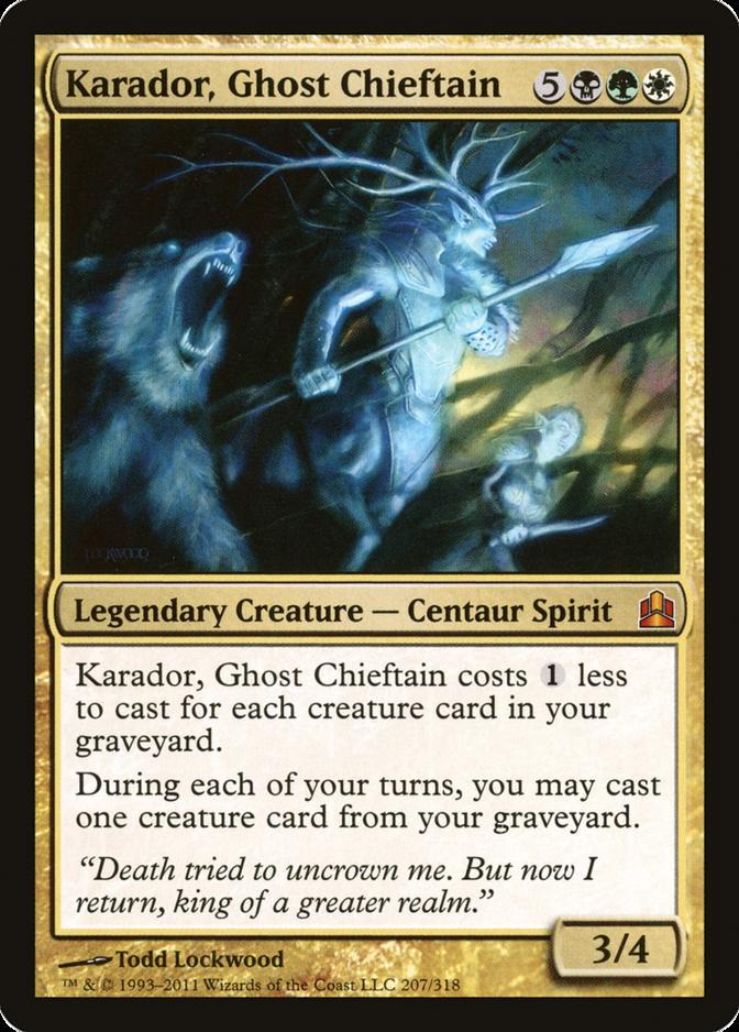 Karador, Ghost Chieftain [CMD]