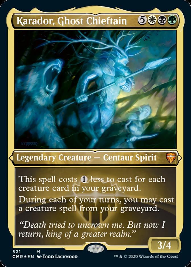 Karador, Ghost Chieftain [PCMR] (F)
