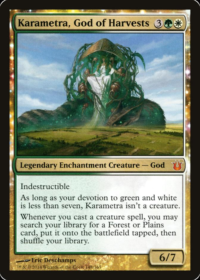 Karametra, God of Harvests [BNG]