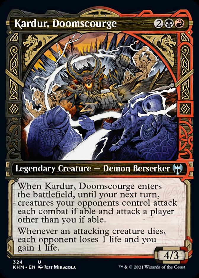 Kardur, Doomscourge <showcase> [KHM]