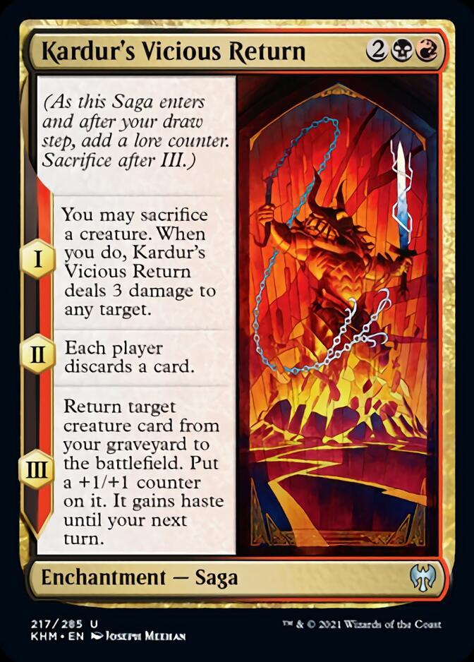 Kardur's Vicious Return [KHM]