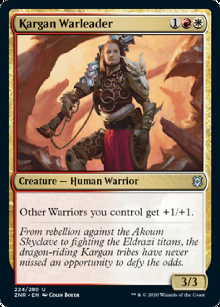 Kargan Warleader [ZNR]