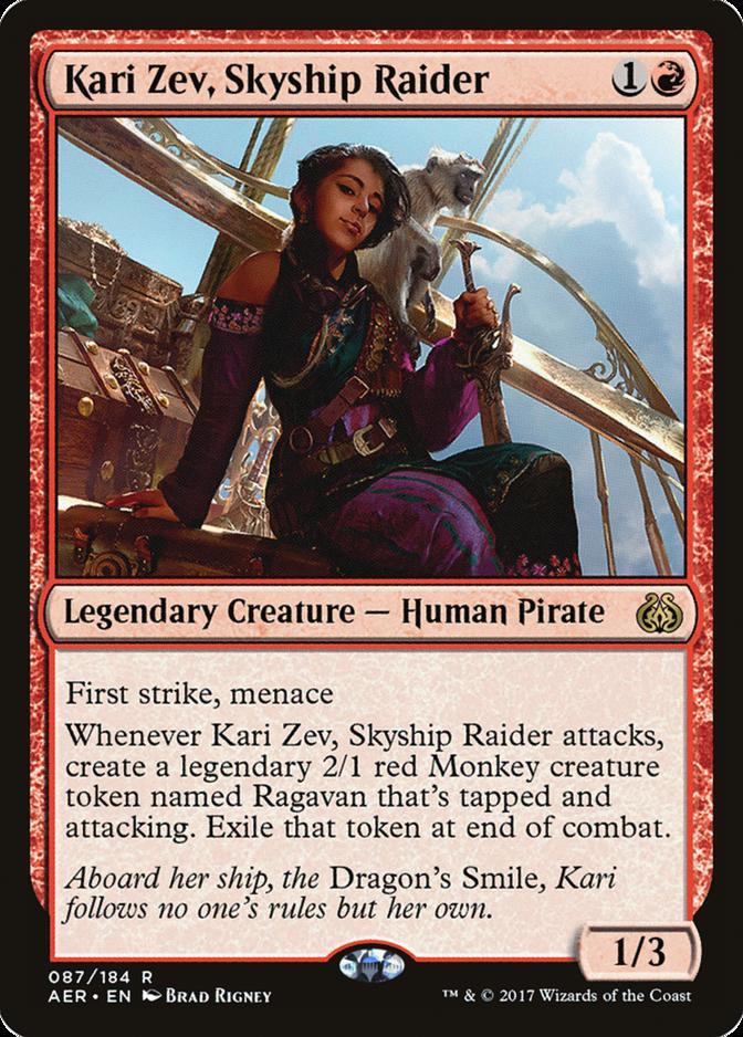 Kari Zev, Skyship Raider [AER]