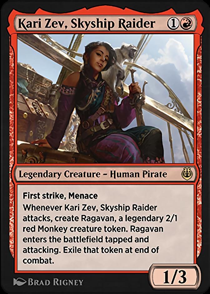 Kari Zev, Skyship Raider [KLR]