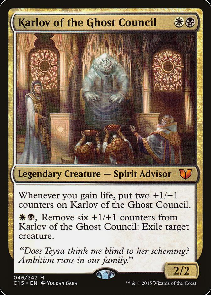Karlov of the Ghost Council [C15]