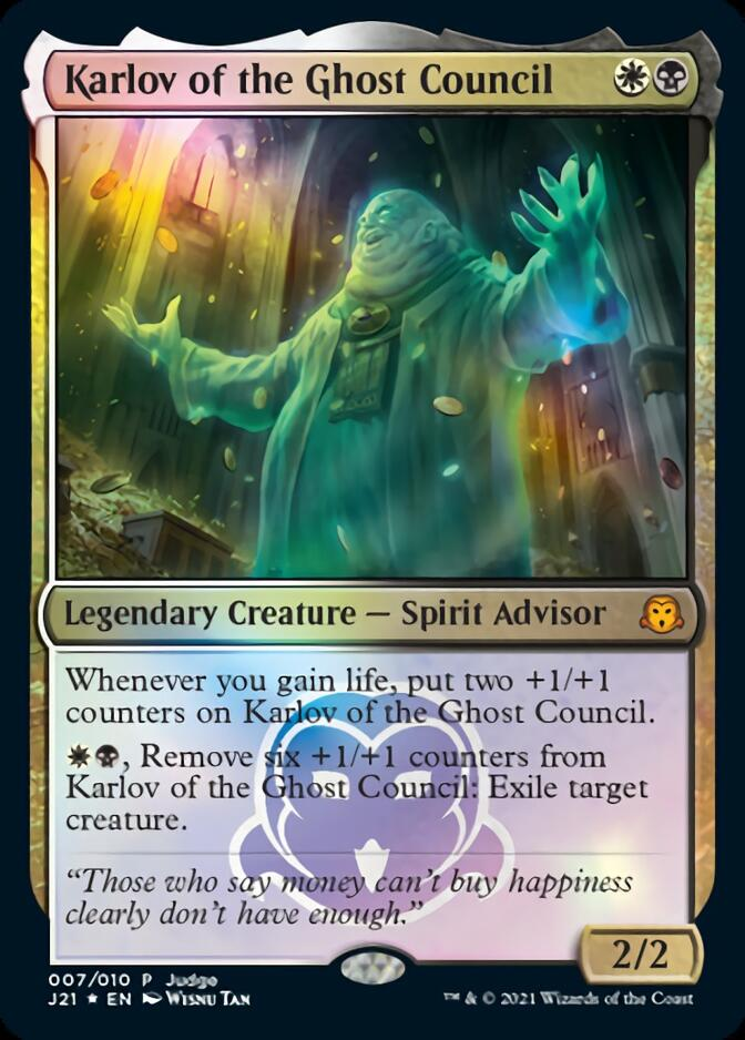 Karlov of the Ghost Council [PRM-JUD] (F)