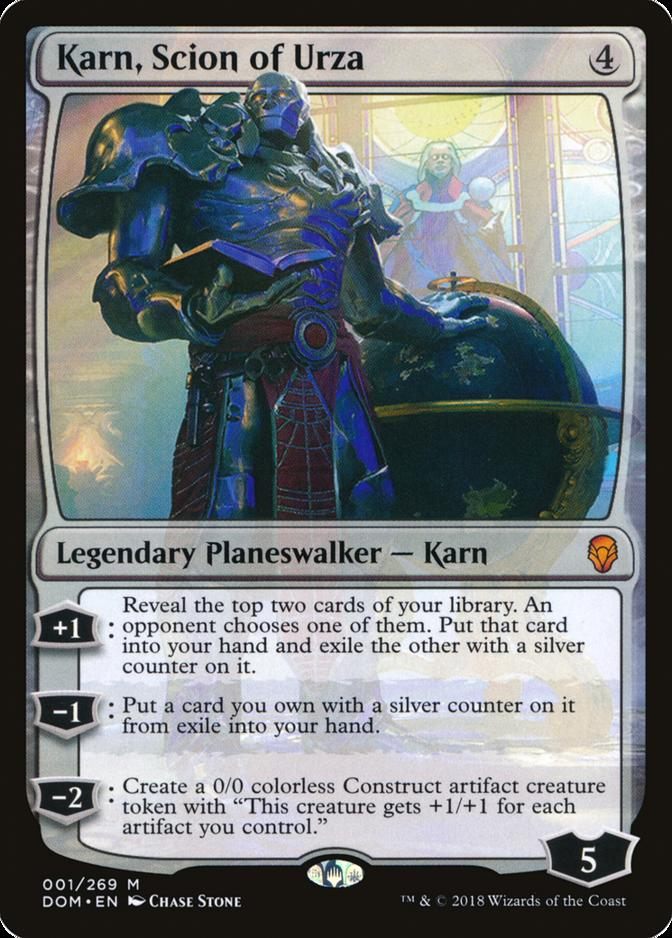 Karn, Scion of Urza [DOM]
