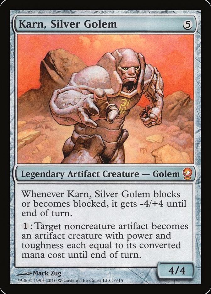 Karn, Silver Golem [V10] (F)