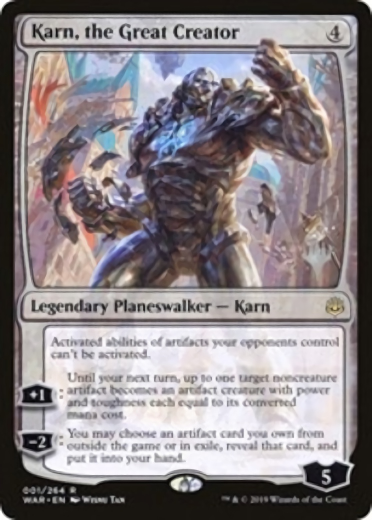 Karn, the Great Creator [PPTHB]