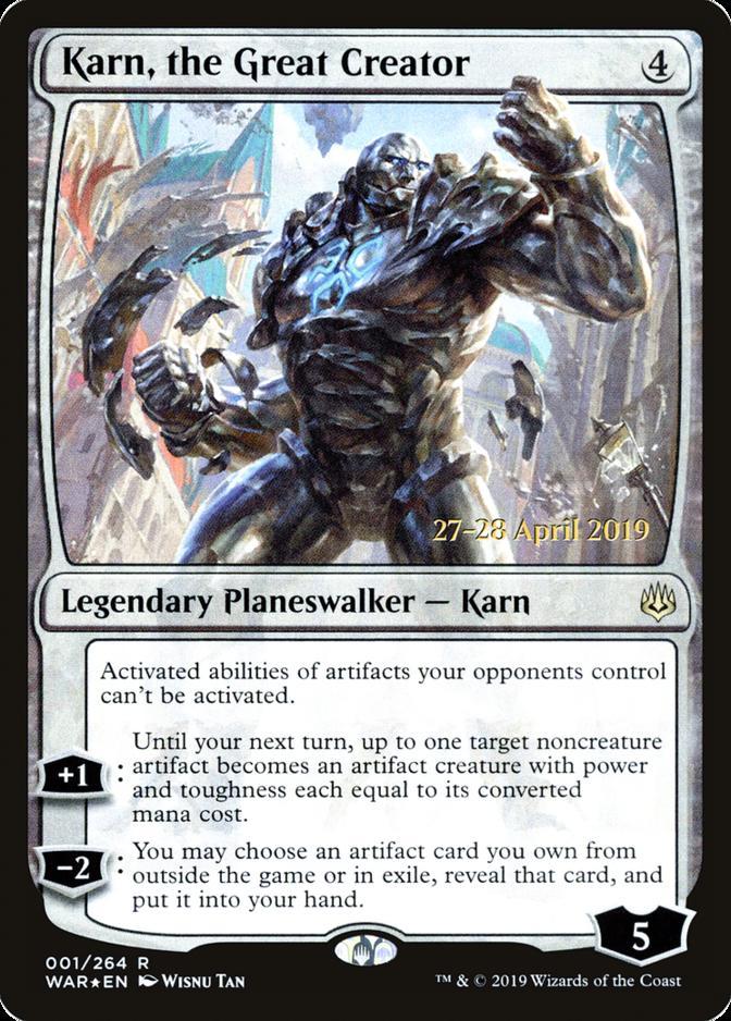 Karn, the Great Creator [PRM-PRE] (F)