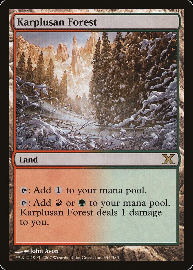 Karplusan Forest [10E] (F)