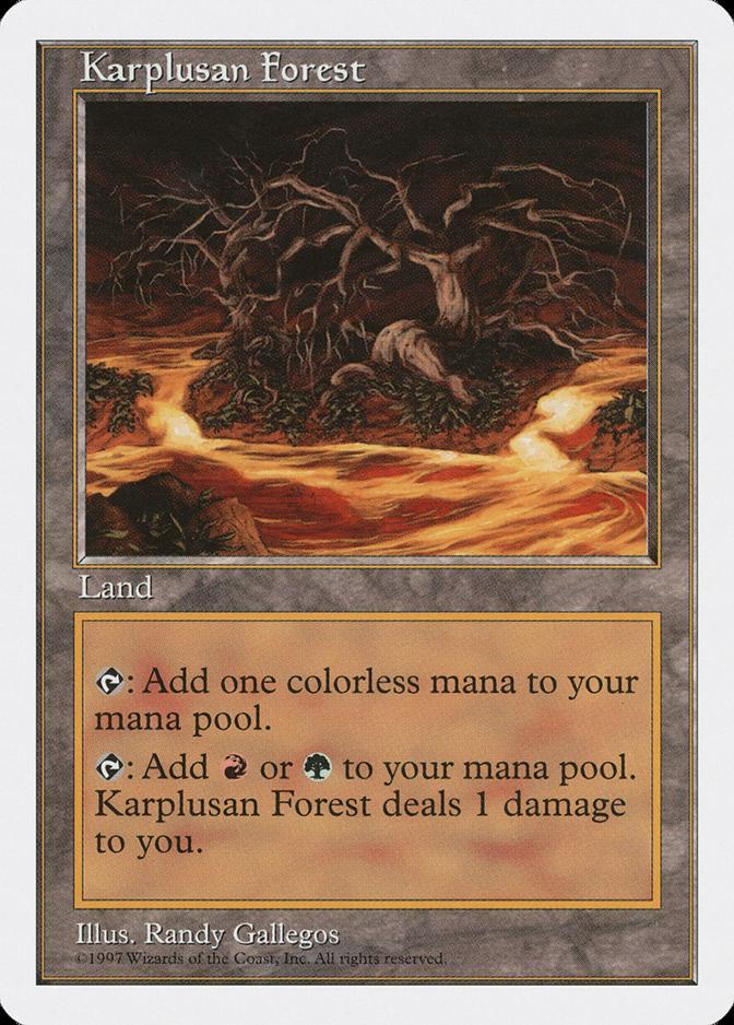 Karplusan Forest [5ED]