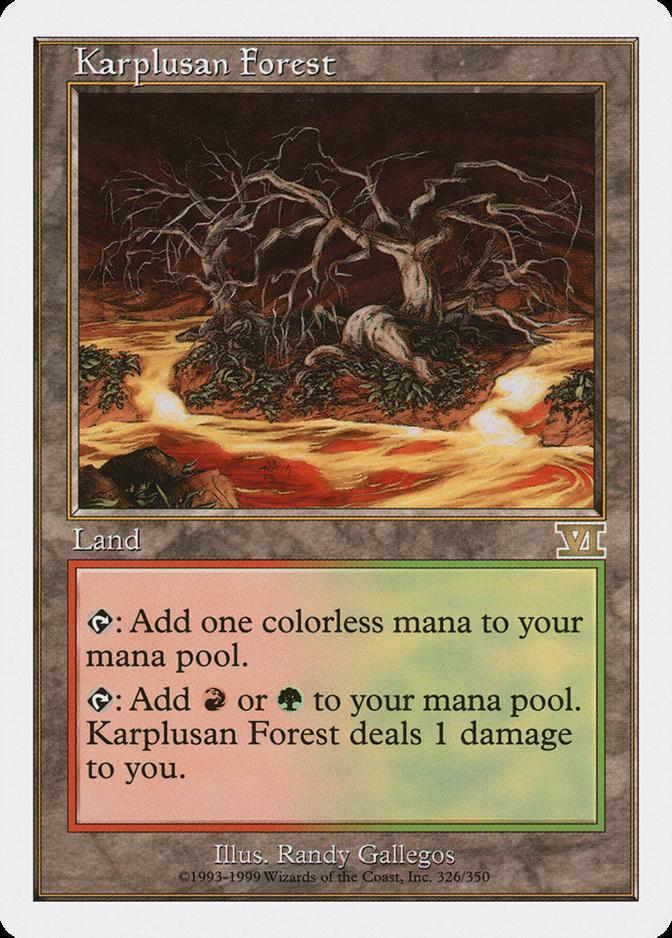 Karplusan Forest [6ED]
