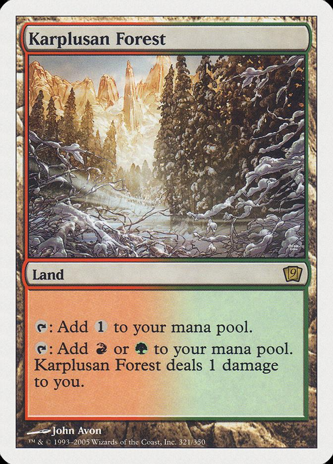Karplusan Forest [9ED]