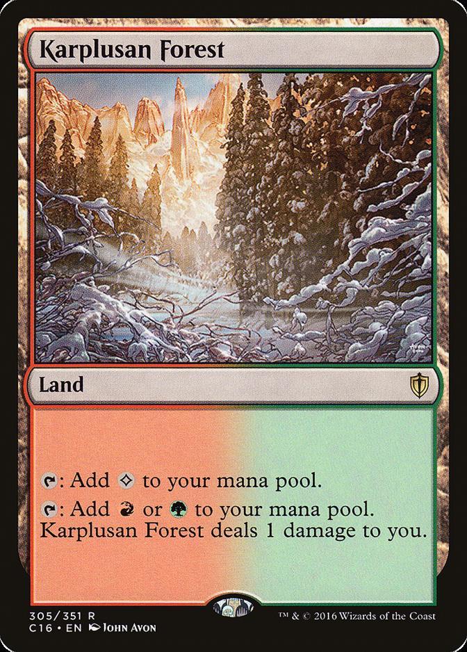 Karplusan Forest [C16]