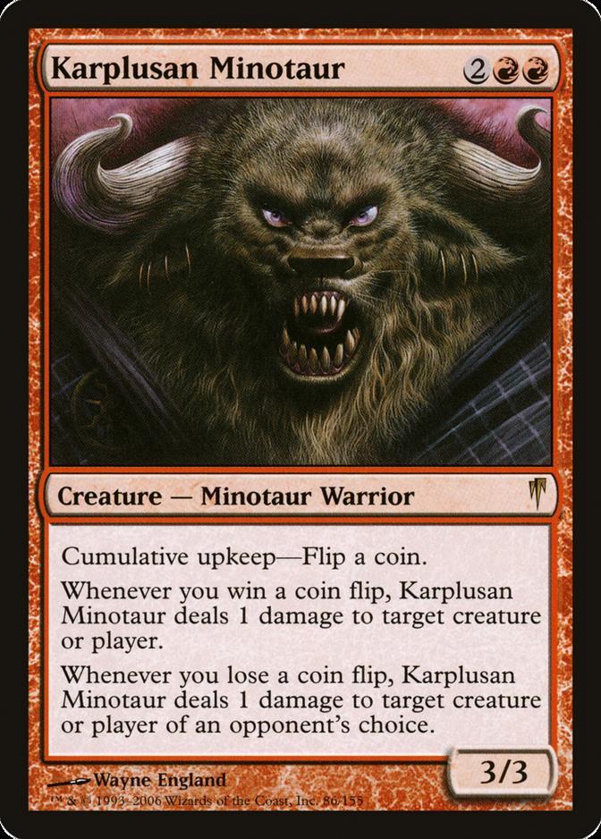 Karplusan Minotaur [CSP] (F)