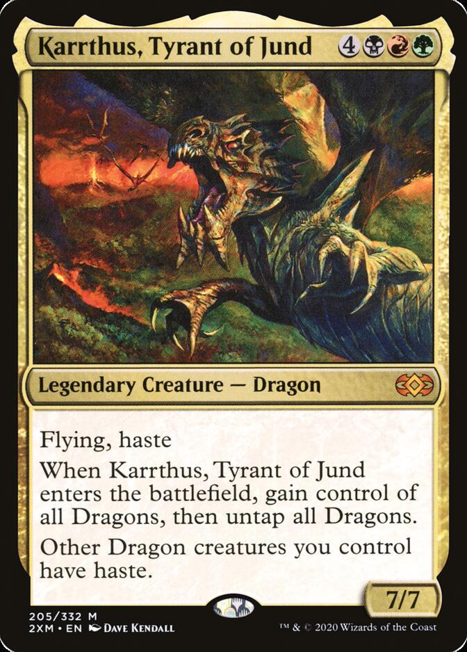 Karrthus, Tyrant of Jund [2XM]